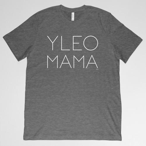 YLEO MAMA Shirt - Dark Gray