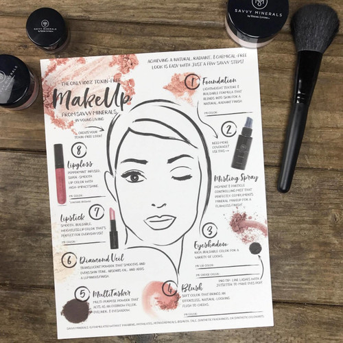 Savvy Beauty Event Table Set Up