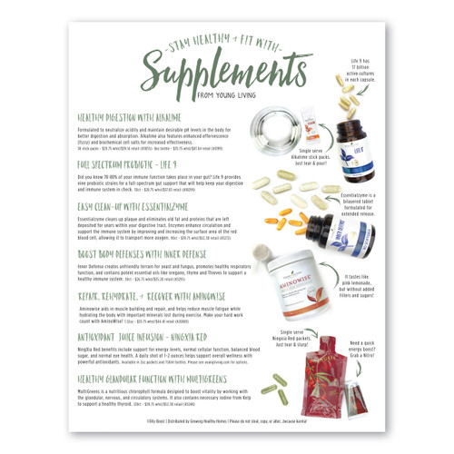 YL Supplements Flyer Pack
