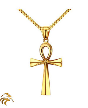 RA POWER ANKH - Gold plated - Blessed by Naazir Ra