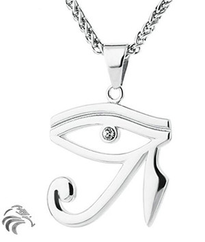 """EYE of RA """"Evil Eye Protection"""" - STAINLESS STEEL - Blessed by Naazir Ra"""