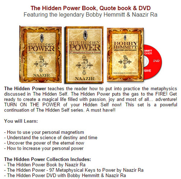 The Hidden Power Collection - How to Manifest Your Dreams