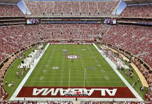 Alabama Crimson Tide Bryant EZ Bryant-Denny Stadium NCAA College Football Photo 01b 8x10-48x36