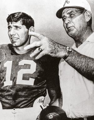 Bear Bryant Joe Namath Alabama Crimson Roll Tide College Football Photo 53 8x10-48x36