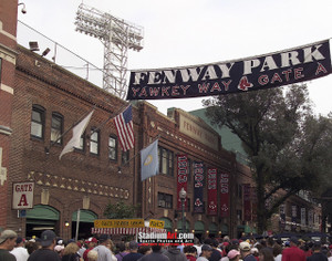 Boston Red Sox Fenway Park Yawkey Way MLB Baseball Photo 150 8x10-48x36