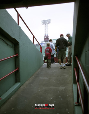 Boston Red Sox Fenway Park Ramp MLB Baseball Photo 40 8x10-48x36