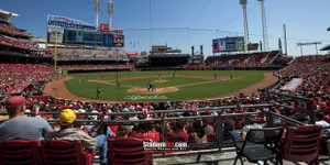 Cincinnati Reds Great American Ball Park Ballpark MLB Baseball Stadium Photo 05 8x10-48x36