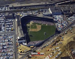 Cincinnati Reds z Crosley Field Ballpark MLB Baseball Stadium Photo 10 8x10-48x36