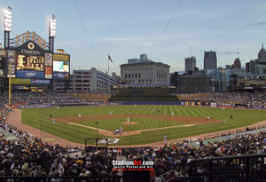 Detroit Tigers Comerica Park Baseball Stadium Photo Print 02 8x10-48x36