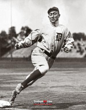 Detroit Tigers Ty Cobb Baseball Photo Print 64 8x10-48x36