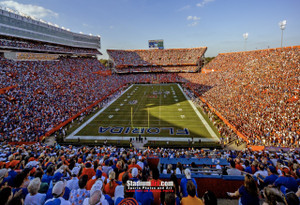 Florida Gators Ben Hill Griffin Stadium Steve Spurrier Field The Swamp Football Photo Print 01 8x10-48x36