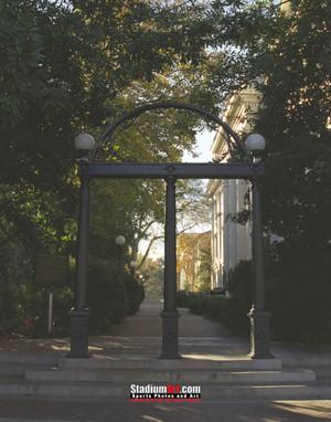 Georgia Bulldogs Arches Photo Print 40 8x10-48x36