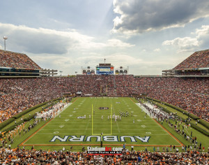 Auburn Tigers Jordan Hare Football Stadium Photo 8x10-48x36 Print 04