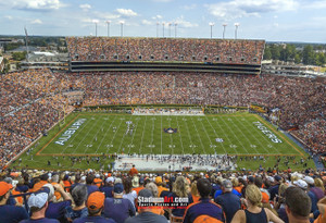 Auburn Tigers Jordan Hare Football Stadium Photo 8x10-48x36 Print 08