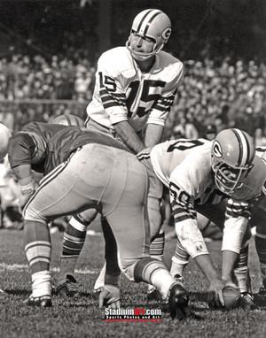Green Bay Packers Bart Starr Football 8x10-48x36 Photo Print 53