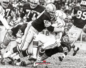 Green Bay Packers Ray Nitschke Football 8x10-48x36 Photo Print 52