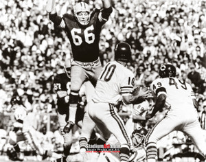 Green Bay Packers Ray Nitschke Football 8x10-48x36 Photo Print 53