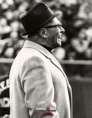 Green Bay Packers Vince Lombardi Football 8x10-48x36 Photo Print 54