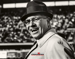 Green Bay Packers Vince Lombardi Football 8x10-48x36 Photo Print 56