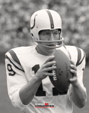 Indianapolis Colts z Baltimore Johnny Unitas Football 8x10-48x36 Photo Print 65