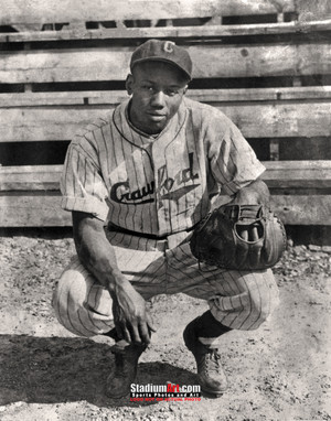 Josh Gibson Pittsburgh Crawfords Negro League Baseball Homestead Grays Photo Art Print 8x10 or 11x14 or 40x30 StadiumArt.com Sports Photos