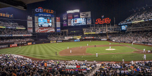 New York Mets Citi Field NY Baseball Stadium Photo Art Print 13x26 StadiumArt.com Sports Photos