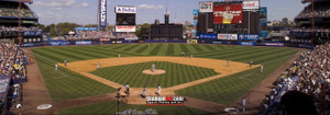 New York Mets Shea Stadium NY Baseball Stadium Photo Art Print 13x37 StadiumArt.com Sports Photos