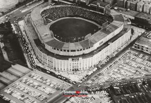 New York Yankees NY Old Yankee Stadium Baseball Field Photo Art Print 13x19 or 24x36
