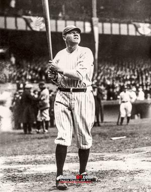 New York Yankees z Babe Ruth NY Baseball 8x10-48x36 Photo Print 59