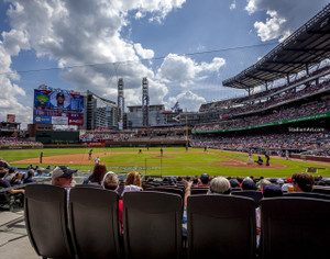 Atlanta Braves SunTrust Park New Baseball Stadium 05 MLB 8x10-48x36 CHOICES