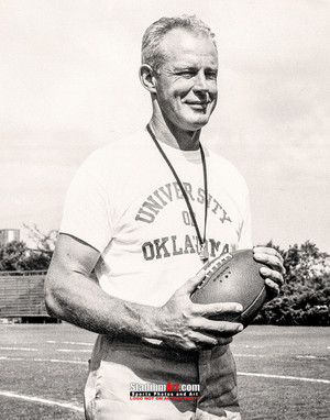 Oklahoma Sooners Bud Wilkinson NCAA College Football Photo Art Print 8x10 or 11x14 or 40x30 StadiumArt.com Sports Photos