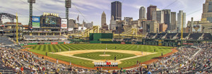 Pittsburgh Pirates PNC Park Baseball StadiumPhoto Art Print 13x37 StadiumArt.com Sports Photos