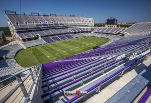 TCU Horned Frogs Football Stadium Texas Christian University Photo Art Print 13x19 or 24x36 StadiumArt.com Sports Photos