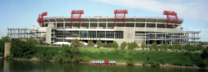 Tennessee Titans Nissan Stadium NFL Football Photo Art Print 13x37 StadiumArt.com Sports Photos