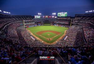 Texas Rangers Globe Life Park in Arlington MLB Baseball Stadium 13x19 or 24x36 photo StadiumArt.com Sports Photos