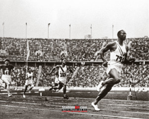 Jesse Owens Track Running Olympics 8x10 or 11x14 or 40x30 photo StadiumArt.com Sports Photos