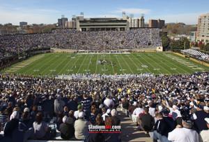 Vanderbilt Football Stadium Vandy Commodores Dudley Field 13x19 or 24x36 photo StadiumArt.com Sports Photos