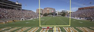 Vanderbilt Football Stadium Vandy Commodores Dudley Field 13x37 photo StadiumArt.com Sports Photos