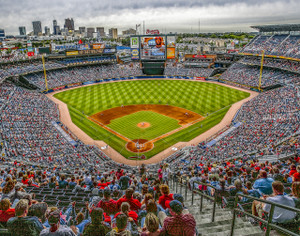 Atlanta Braves Turner Field Baseball Stadium 10 MLB 8x10-48x36 CHOICES