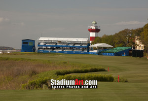 Harbour Town Golf Links at The Sea Pines Resort  Golf Hole 18  8x10-48x36 Photo Print 1270