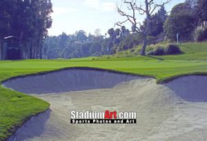 Riviera Country Club Golf Hole 4 8x10-48x36 Photo Print 1270