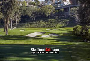 Riviera Country Club Golf Hole 6 8x10-48x36 Photo Print 1285