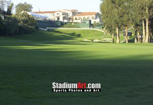 Riviera Country Club Golf Hole 18 8x10-48x36 Photo Print 1265