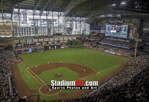 Houston Astros Minute Maid Park MLB Baseball Photo 1210 8x10-48x36