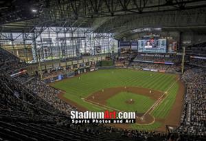 Houston Astros Minute Maid Park MLB Baseball Photo 1220 8x10-48x36