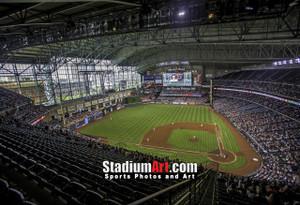 Houston Astros Minute Maid Park MLB Baseball Photo 1240 8x10-48x36