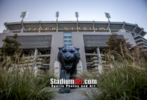 LSU Tigers Tiger Stadium 1330 8x10-48x36 1220