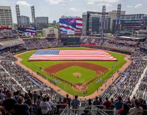 Atlanta Braves SunTrust Park New Baseball Stadium 01 MLB 8x10-48x36 CHOICES