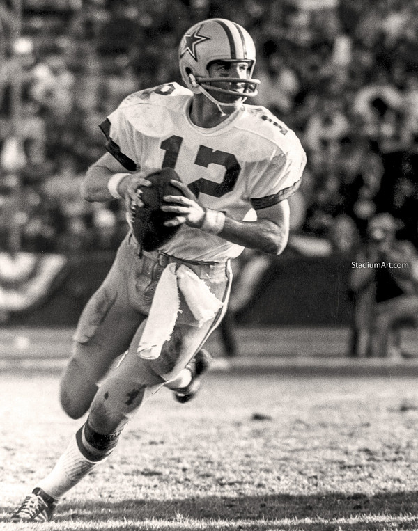Dallas Cowboys Roger Staubach 54 NFL Football 8x10-48x36 CHOICES