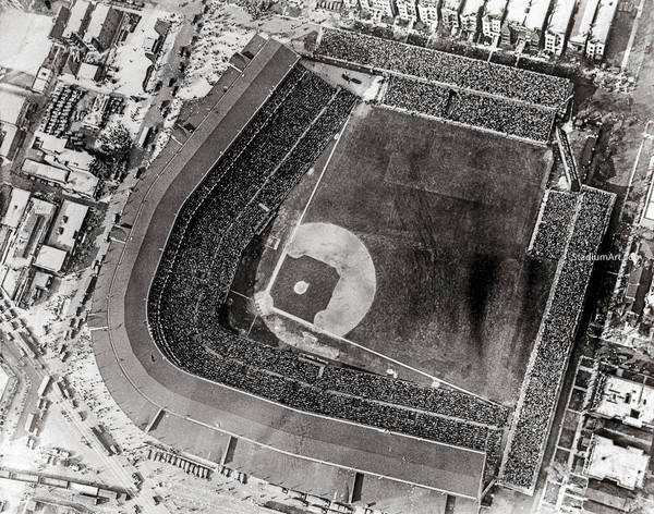 Chicago Cubs Wrigley Field Old MLB Baseball Photo 53 8x10-48x36